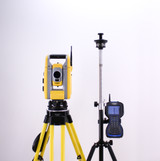 Trimble S3 Robotic Total Station Kit w/ Spectra Precision Ranger 3 Data Collector & Survey Pro Software