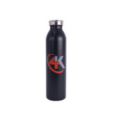 4K Equipment Charcoal Sports Stainless Steel 20 oz. Water bottle