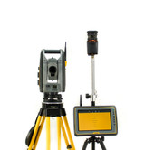 Trimble SPS610 5 Robotic Total Station Kit w Kenai Tablet & MEP Software
