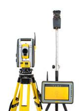"Trimble SPS620 DR 5"" Robotic Total Station Kit w/ Kenai Tablet & MEP Software"