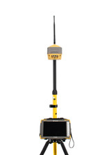 Topcon Single Hiper HR FH915+ SS GPS/GNSS Receiver Kit w/ FC-6000 Tablet & Pocket 3D Software