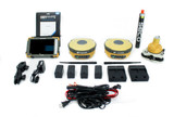 MONTHLY RENTAL: Topcon Dual Hiper V 915 SS GPS/GNSS Receiver Kit w/ FC-5000 Tablet & Pocket-3D Software