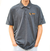 4K Equipment Dark Grey Polo