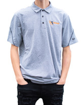 4K Equipment Light Grey Polo