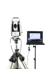 Leica Absolute Laser Tracker AT403 Meteo Station Kit w/ AT40X Tracker Pilot Software