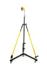 ASE SLP2 (New Design) Bracket & Total Station Collapsible roller Version 2 Layout Cart Kit w/ SitePro Laser