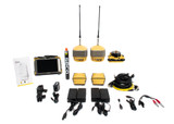 Topcon Dual Hiper HR UHF II GPS/GNSS Receiver Kit w/ FC-5000 Tablet & Pocket-3D Software