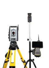 "Trimble S7 2"" Robotic Total Station w/ TSC7 Data Collector & Access Software"