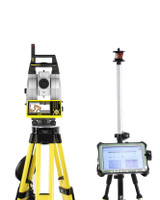 NEW Leica iCR80 Total Station w/ CS35 Tablet & MPR122 Prism