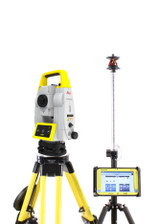 "Leica iCT30 9"" Total Station Layout Tool w/ CC80 Tablet & MPR122 Prism"