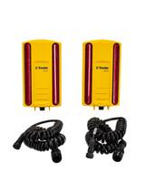 Trimble Dual LR410 Laser Receiver Kit w/ Coil Cables