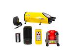 Leica Piper 200 Pipe Laser Kit w/ Alignmaster & IRPL200 Remote