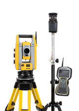 """Trimble S5 5"""" Robotic Total Station Kit w/ TSC3 Data Collector & Access Software"""