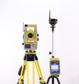 Topcon QS3A Robotic Total Station w/ Tesla Tablet & Pocket-3D Software