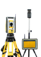 "Trimble RTS873 3"" Robotic Total Station w/ Kenai Tablet & MEP Software"