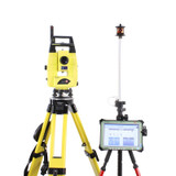 Leica iCR55 Robotic Total Station Kit w/ CS35 Tablet & iCON Software