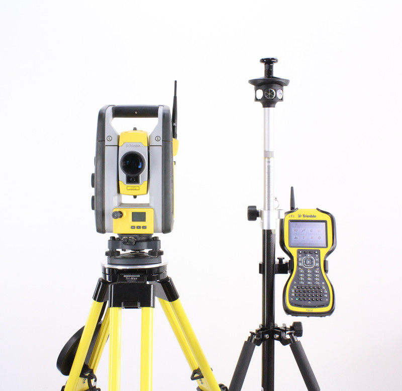 Trimble SPS720 Robotic Total Station Kit w/ TSC3 Data Collector & SCS900 Software