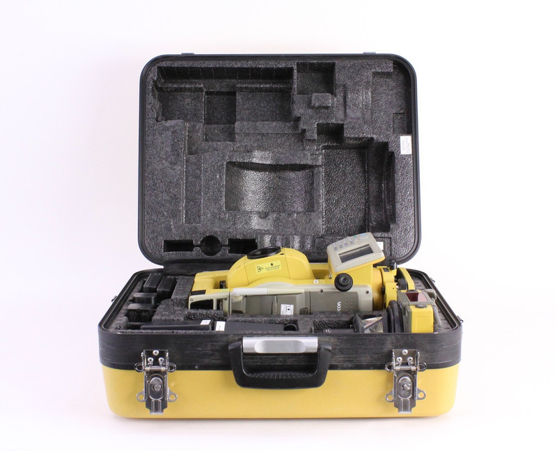 Topcon QS1A Robotic Total Station Kit