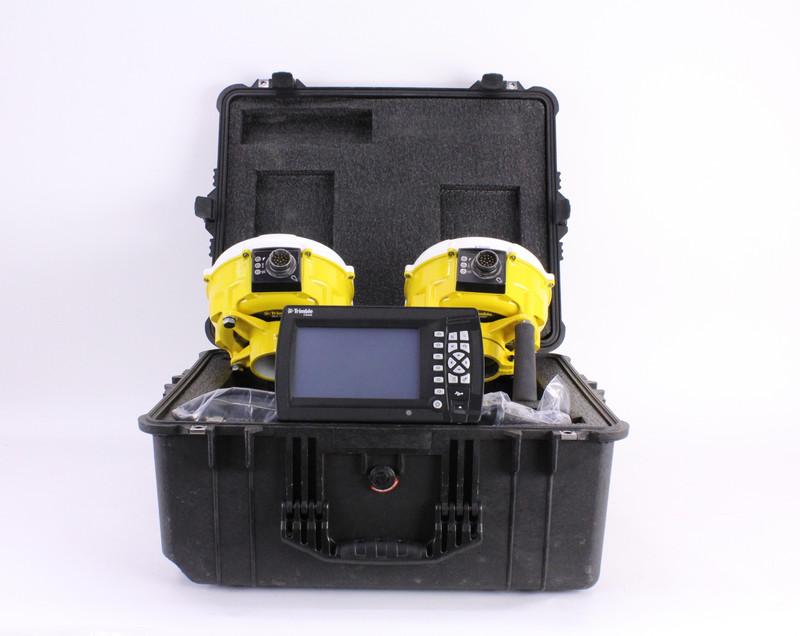 MONTHLY RENTAL: Trimble GPS Grader Kit w/ CB460 Display & Dual MS990 Antennas, CAT
