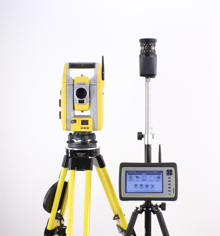 "MONTHLY RENTAL: Trimble S5 3"" DR+ Robotic Total Station Kit w/ Yuma 2 Tablet & Access Software"