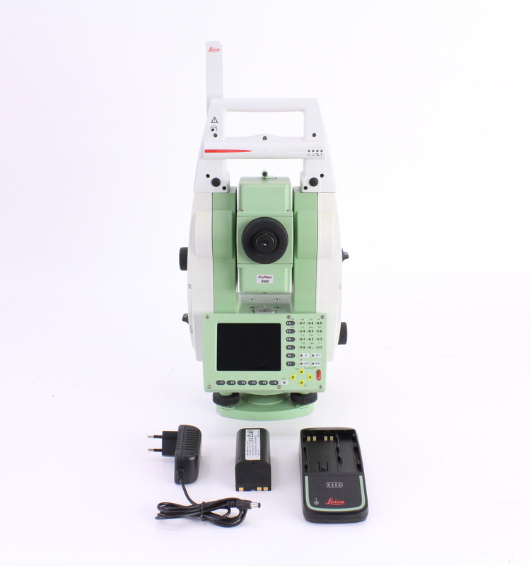 "Leica TCRP1203+ 3"" R400 Robotic Total Station Kit"