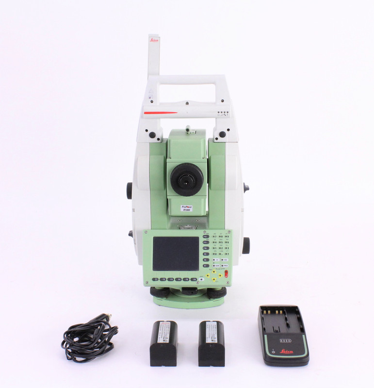 Leica TCRP1201+ Robotic Total Station Kit