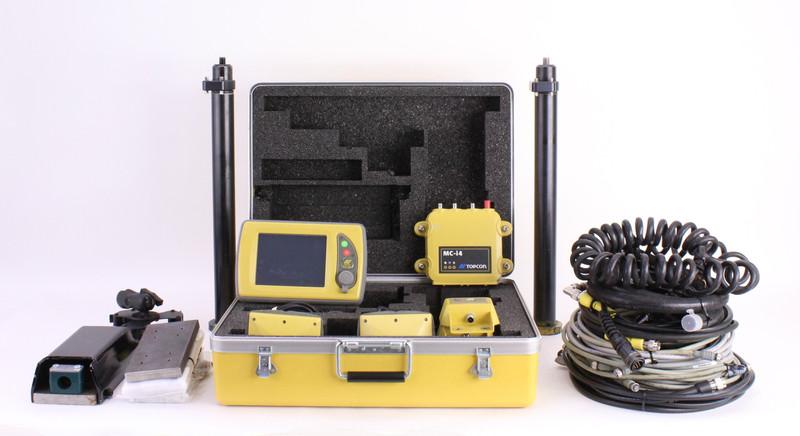 Topcon 3D-MC Full Excavator GPS Kit w/ MC-i4 Control Box & GX-60 Display
