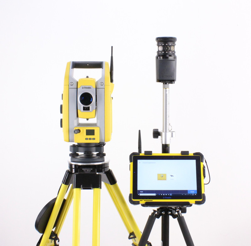 Trimble S5 Robotic Total Station Kit w/ T10 Tablet & Access Software