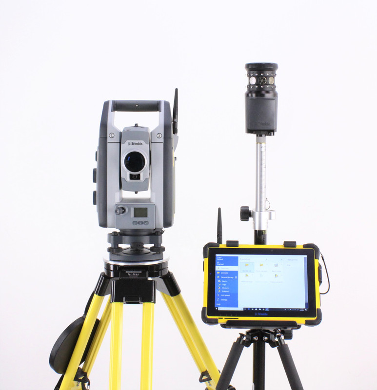 Trimble S7 Robotic Total Station Kit w/ T10 Tablet & Access Software