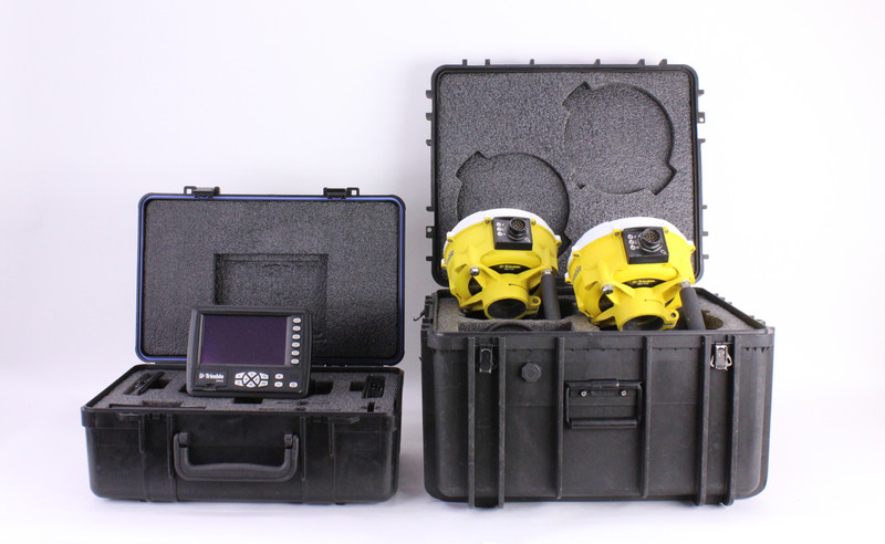 Trimble GCS900 CB430 Display Kit w/ Dual MS992 Receivers, Indicate