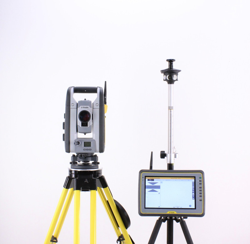 Trimble SPS730 Robotic Total Station Kit w/ Kenai Tablet & SCS900 Software