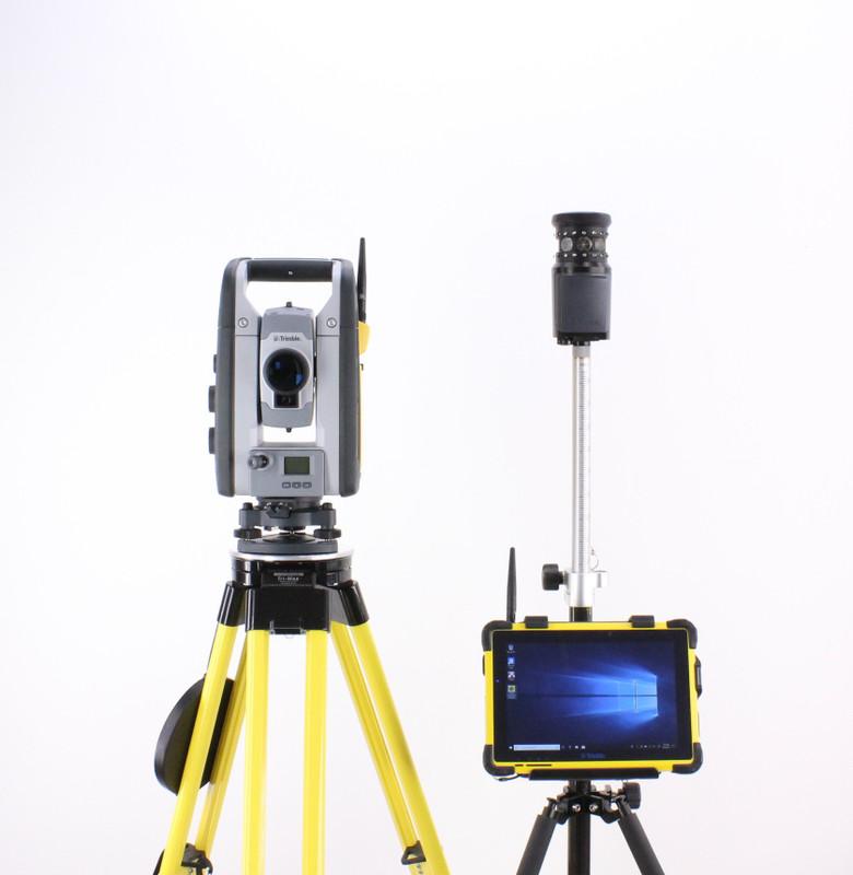 Trimble SPS730 DR+ Robotic Total Station Kit w/ T10 Tablet & SCS900 Software