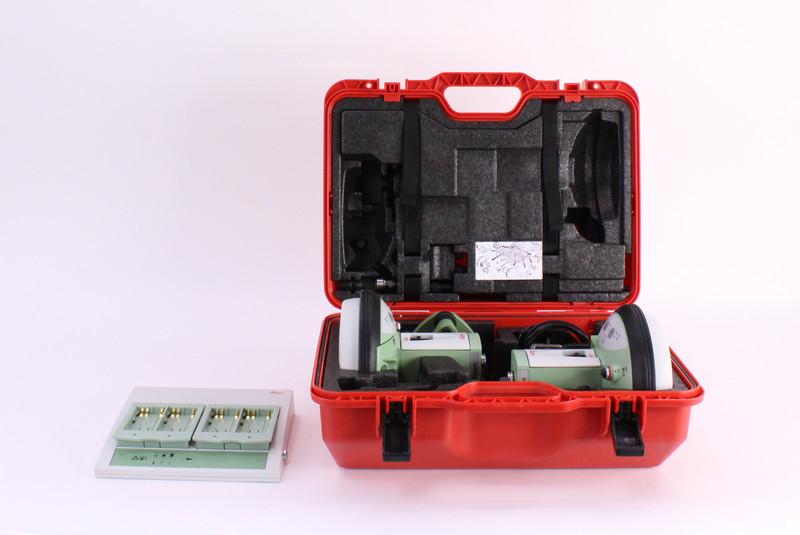 Leica Dual GS15 GPS Receiver Kit w/ CS15 Data Collector & Viva Software
