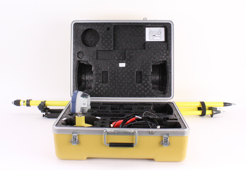 Sokkia Single GRX2 GNSS Receiver Kit w/ Topcon FC-500 Data Collector & Pocket-3D Software