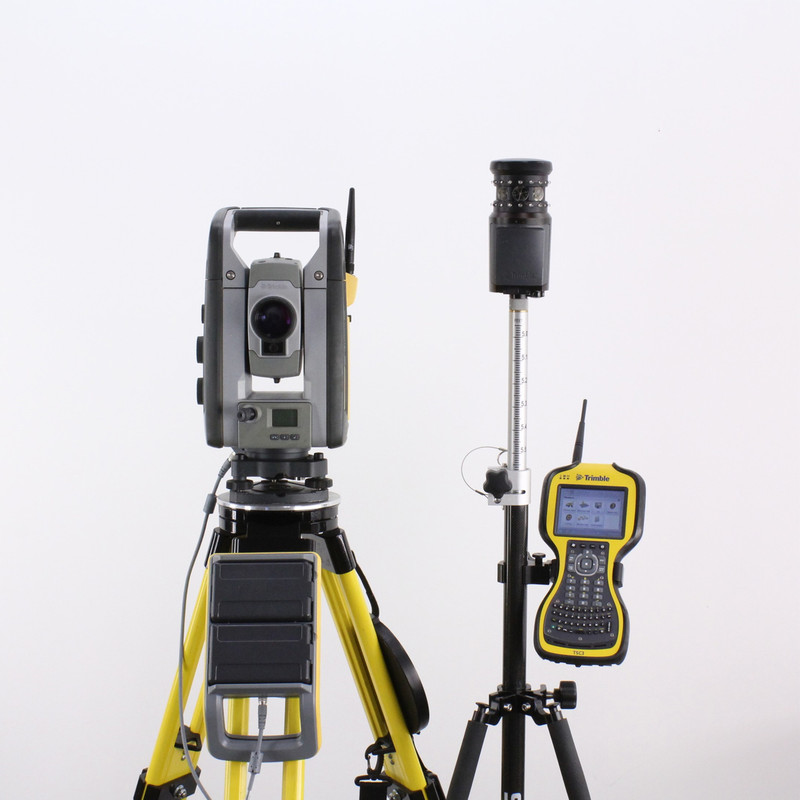 "Trimble SPS930 1"" DR 300+ Robotic Total Station Kit & TSC3 SCS900, MT1000 Prism"