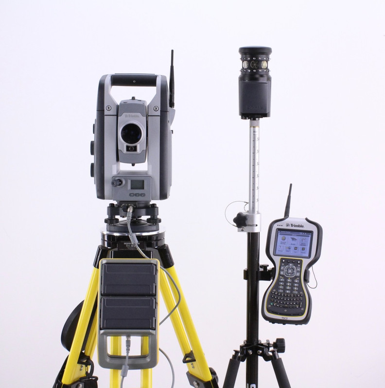 Trimble VX DR+ Robotic Total Station Kit w/ TSC3 Data Collector & Access Software
