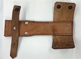 AK Bayonet Frog - Romanian, leather