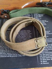 Vintage Lee Enfield Rifle Sling