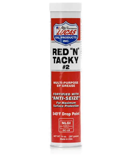 Red N' Tacky Grease 10 Pack- 14Oz Tubes