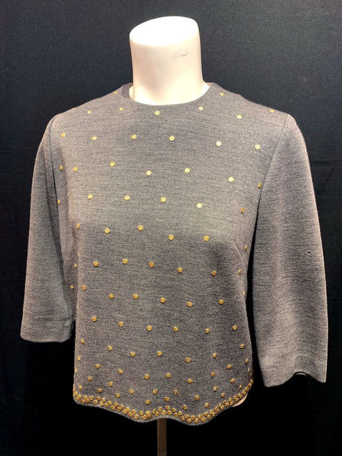 1960's Metal Studded Sweater