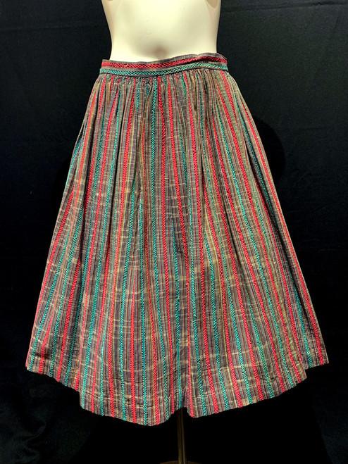 1950's Tashi Castillo Mexican Swing Skirt