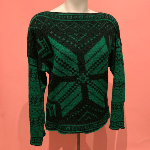 Album by KENZO Italy Wool Nordic Snowflake Sweater
