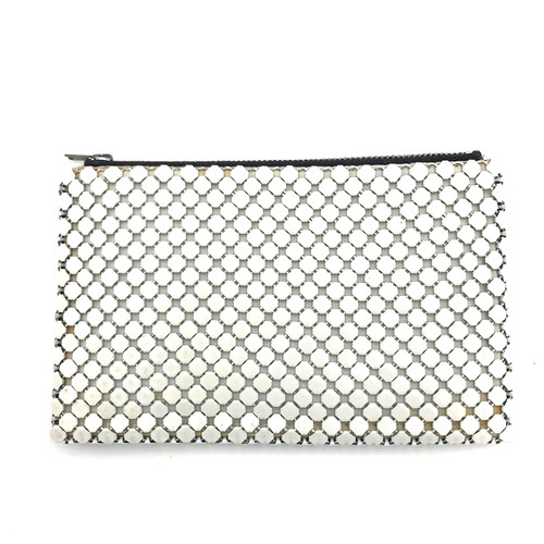 1960s Whiting & Davis Jumbo Scale Metal Mesh Coin Purse