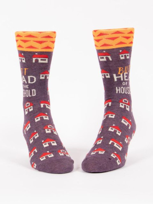 Butthead Of The Household Men's Crew Socks
