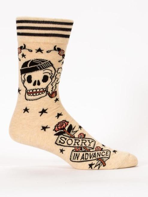 Sorry In Advance Men's Crew Socks
