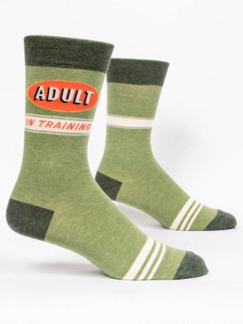 Adult In Training Men's Crew Socks