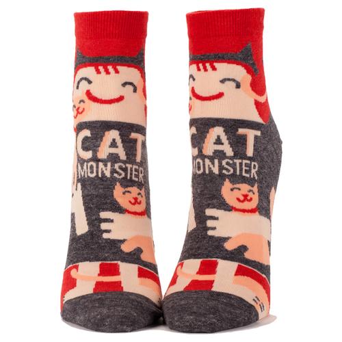 Cat Monster Women's Ankle Socks