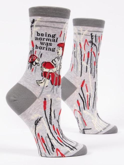 Being Normal Was Boring Women's Crew Socks