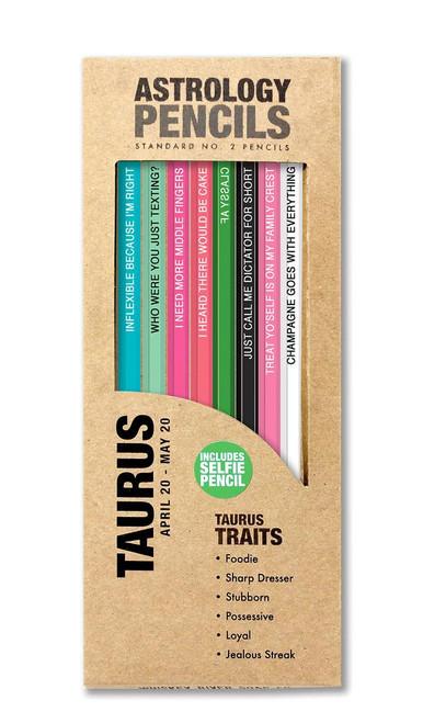 Astrology Pencils Taurus