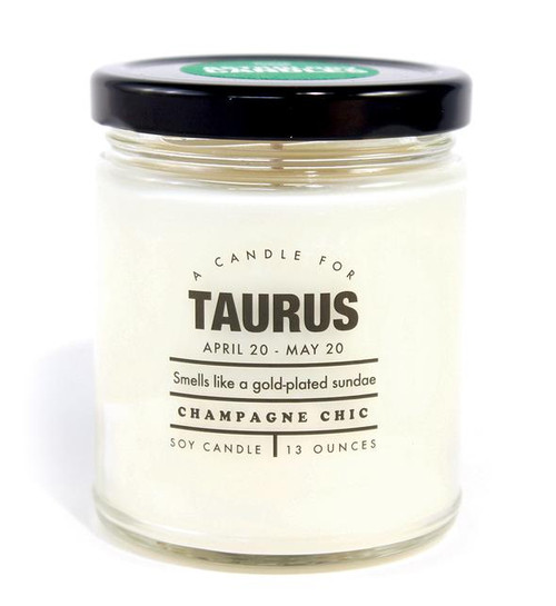 Astrology Candle Taurus